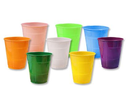 Vasos desechables de colores el tulip n dulcer a - Vasos de colores ...